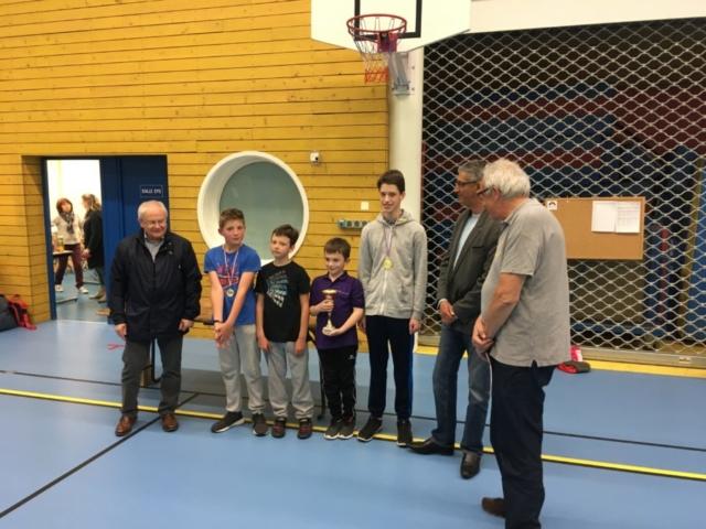 Autun remporte le concours spécial jeunes